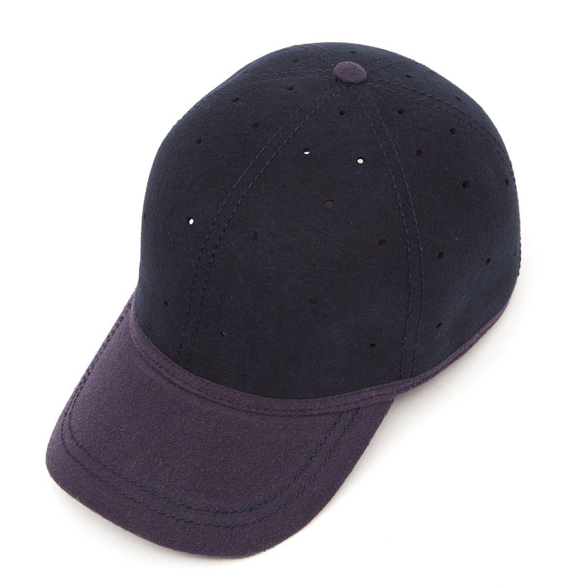 top design online retailer best service Ball cap (perforated) with heavy linen peak