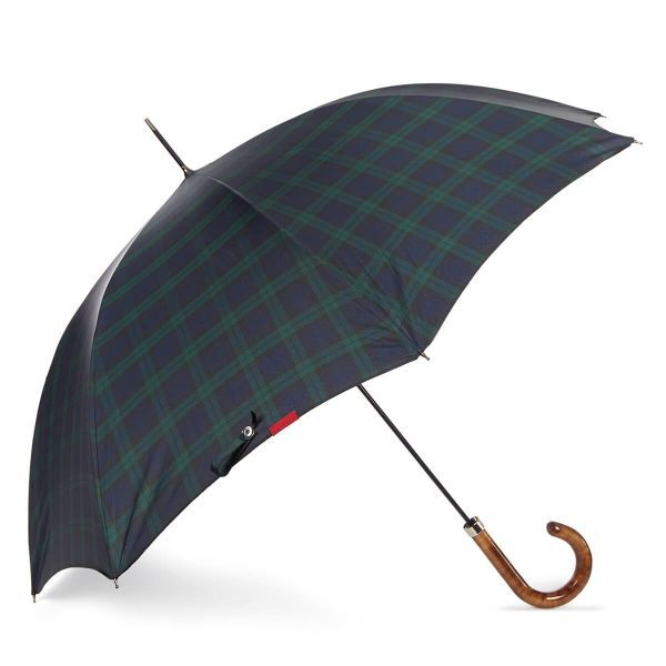 City Slim Gents Umbrella with Scorched Polish Maple Handle