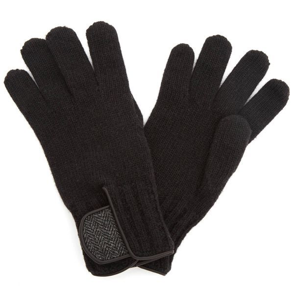Theodore Black Gloves One Size