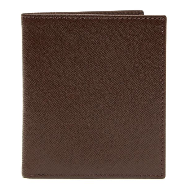 Finsbury Two Tone Compact Leather Wallet