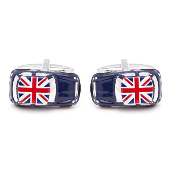 Mini With Union Jack Cufflinks