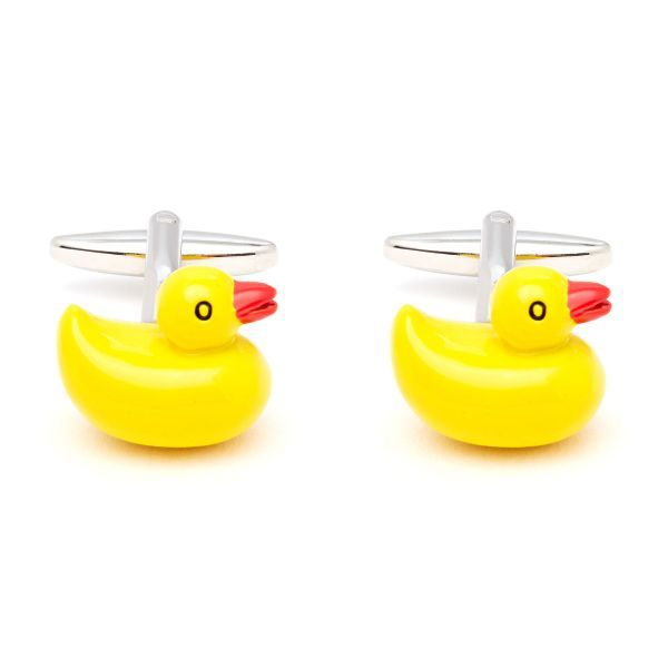 Rubber Duck Cufflinks