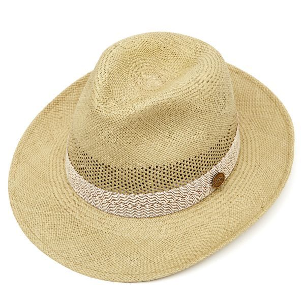 Frances Perforated Panama Hat