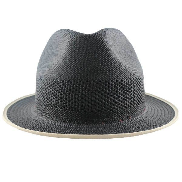 Exclusive Yorkie Panama Hat - Black