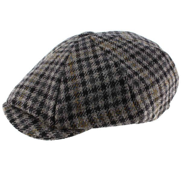 8 Piece Baker Boy Z580 Tweed - Flat Cap