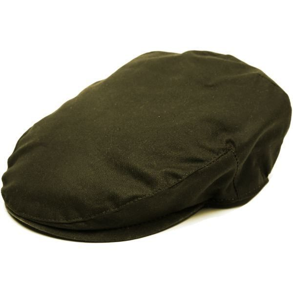 Balmoral Waxed Cotton Flat Cap