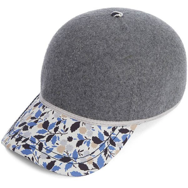 British Ball Cap - Grey Mix