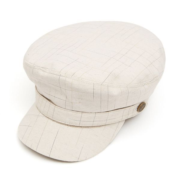 Breton Cotton Mix Cap - Cream