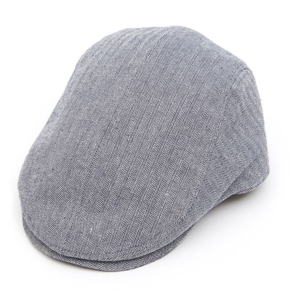 Tailored Driver Flat Cap in Linen