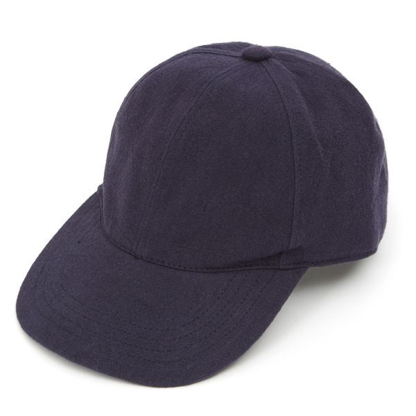 Baseball Cap Heavy Linen - Navy