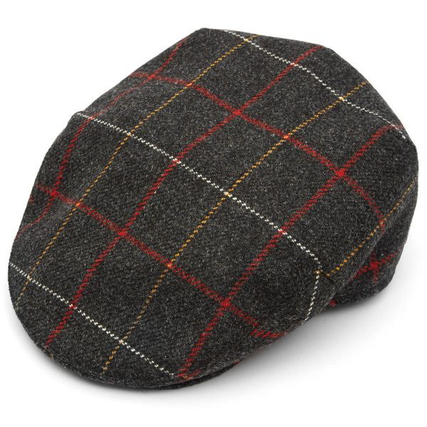 Christys Tweed Balmoral Flat Cap