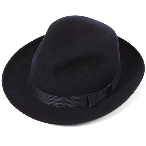 Epsom Fur Felt Racing Trilby Hat