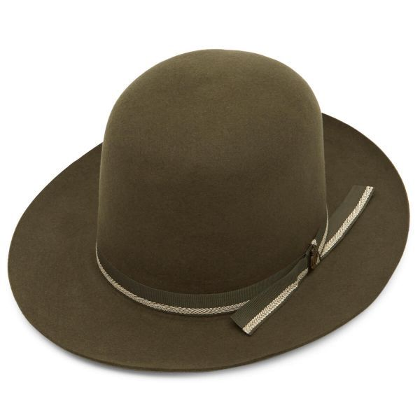 Coombe Open Crown Fur Felt Fedora