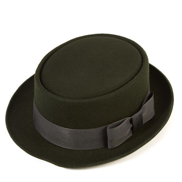 Pork Pie Wool Felt Hat