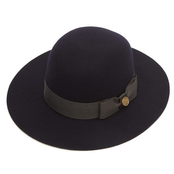 Woodley Ladies Wool Felt Floppy Hat