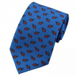 Pure Silk Dog Print Tie