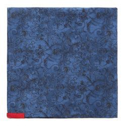 Midnight Hedgerow Pocket Square