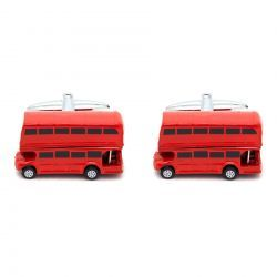 London Bus Cufflinks