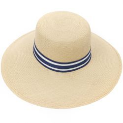 Alice Wide Brim Panama Hat - Natural