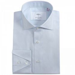 Christys' x Diverso Blue Fine Twill Cotton Shirt