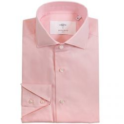 Christys' x Diverso Pink Fine Twill Cotton Shirt