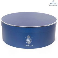 ASCOT Navy Hat Box for Wide Brim Hats