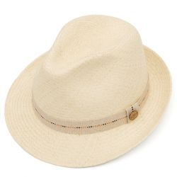 Cuenca Hardy Panama Hat - Semi - Bleached