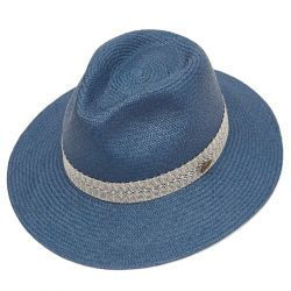 Brize Cuenca Down Brim Panama Hat