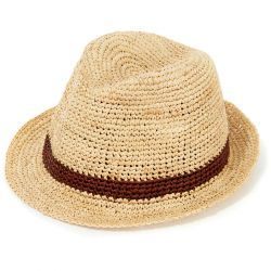 Bude Trilby Hat - Natural