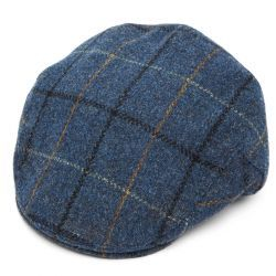 Harris Tweed Balmoral Flat Cap