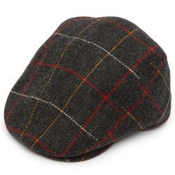 Christys Tweed Tailored Driver Flat Cap
