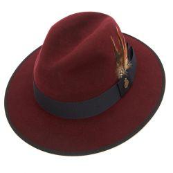 Farnham Down Brim Fur Felt Trilby Hat