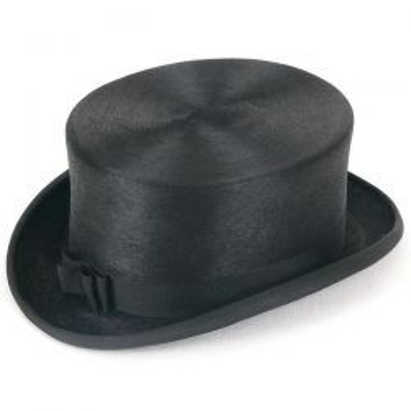 Fur Felt Dressage Hat - Black