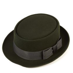 Pork Pie Wool Felt Hat