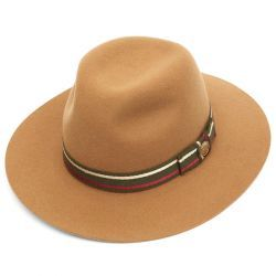 Sherbourne Wool Felt Fedora Hat